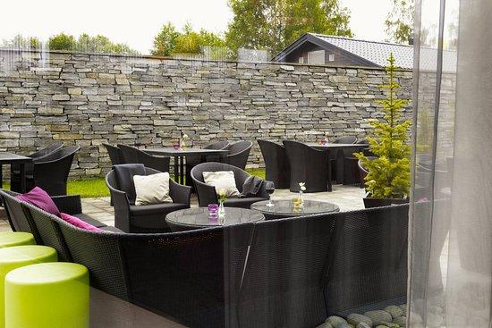 Gardermoen, Noruega: Terrace