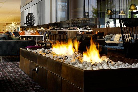 Gardermoen, Noruega: Fireplace