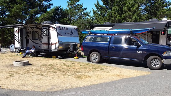 North Whidbey RV Park : our site