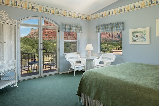 Canyon Villa Bed and Breakfast Inn of Sedona: Strawberry Cactus with Views