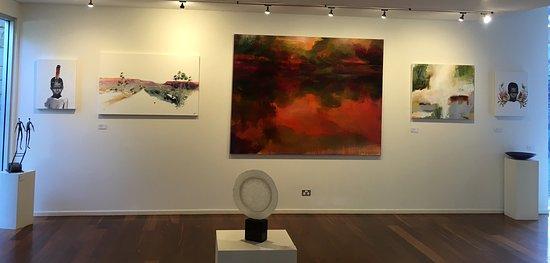 Yallingup, Australia: In the gallery