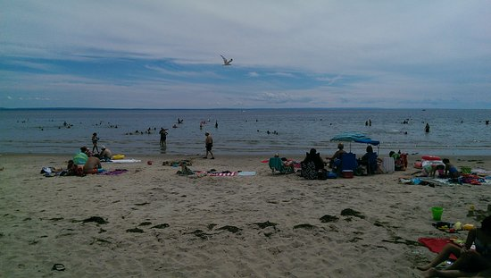 Crystal Beach, Canadá: Certainly not over crowded!