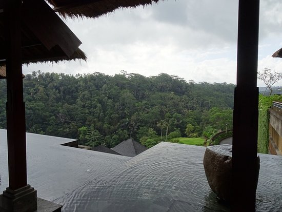 Afternoon tea in a Bali paradise