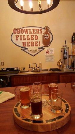 Bigfork, MT: Flight of Beer... Awesome!