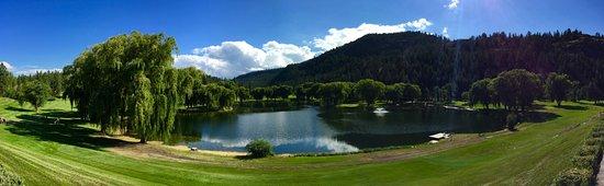 Kaleden, Kanada: Panoramic of the course