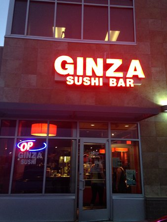Ginza Japanese Restaurant: Entrance