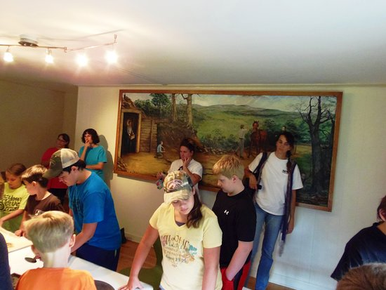 Rutherfordton, Carolina do Norte: Hands-on exhibits in the History Room