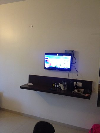 TV - see the settop box - Picture of Vijay Comforts Hotel
