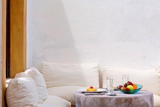 Grikos, Grèce : Room Terrace