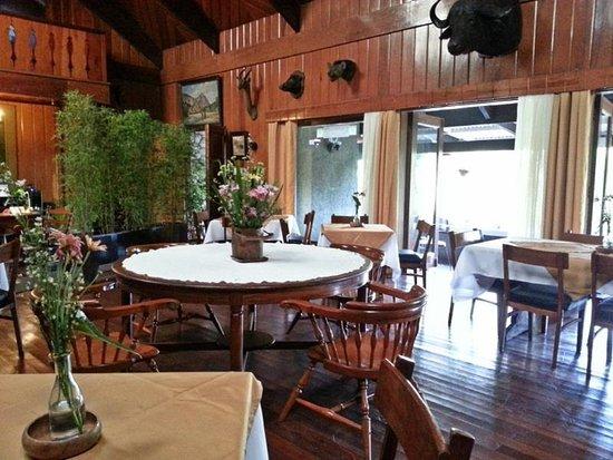 Safari Lodge: Dinning Area
