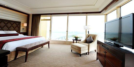 Nanchang, الصين: Deluxe Suite River View