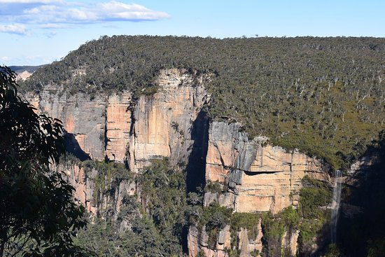 Megalong, Αυστραλία: Bridal Veil Falls - 15 minutes from Werriberri