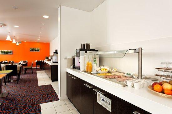 Geispolsheim, Frankreich: Breakfast Area