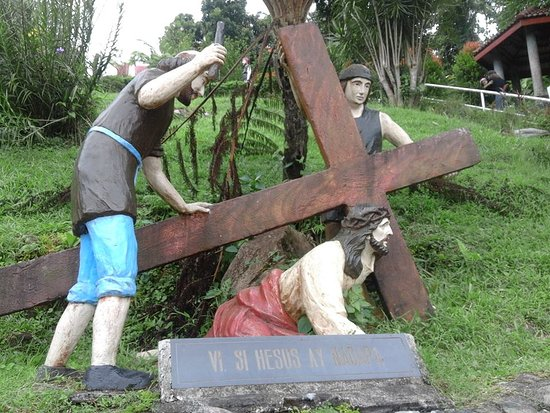 Lucban, Philippines: Station of the Cross