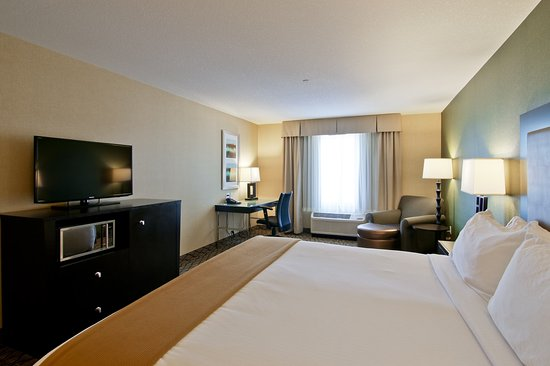 Fort Saskatchewan, Canadá: King Bed Guest Room