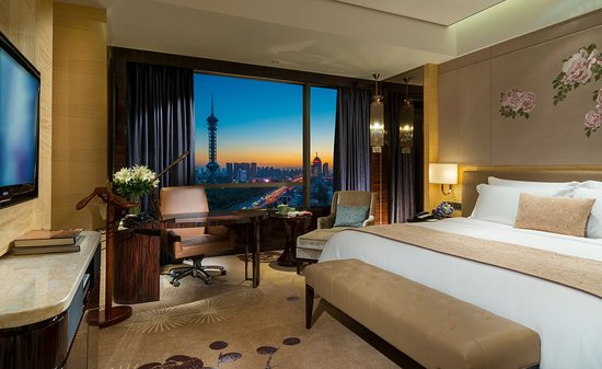 Shijiazhuang, Chiny: King Deluxe Park View Room