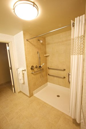 Tunkhannock, Pensilvania: Accessible Shower