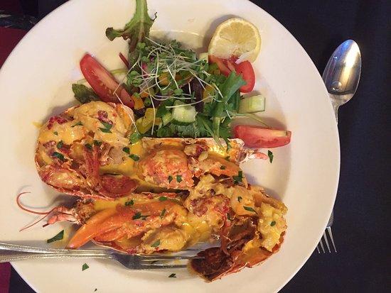 Ivybridge, UK: 'Hope Cove' Lobster Thermidor special £28.00 fabulous