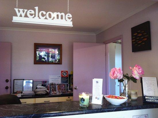 Merimbula, Australië: Front office