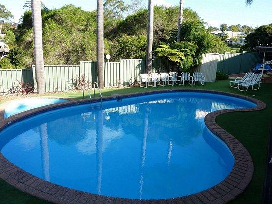 Merimbula, Australië: Pool area