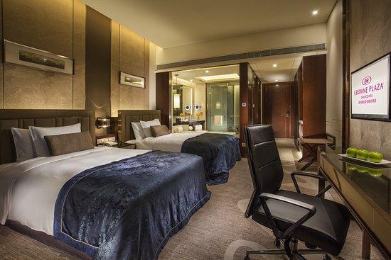 Zhangzhou, Cina: Double Bed Guest Room