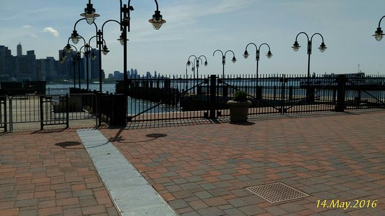 Liberty State Park: Old Jetty with Skyline in the background