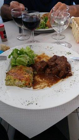 Marmande, Francia: le plat du jour