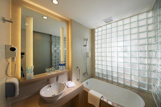 Zhengzhou, China: Guest Bathroom