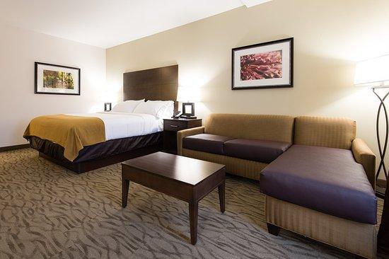 ไอเคน, เซาท์แคโรไลนา: King with Sofa Bed Guest Room Wide Angle