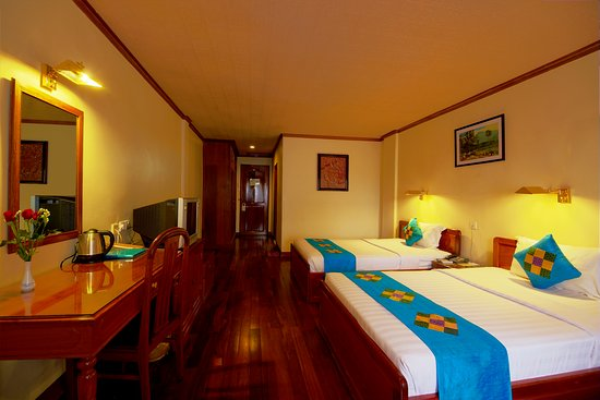 Ta Prohm Hotel: Superior twin room