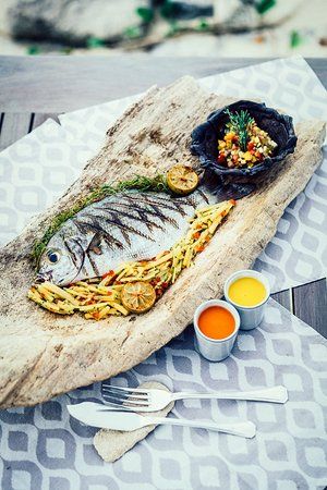 Anantara Medjumbe Island Resort: Fresh Fish