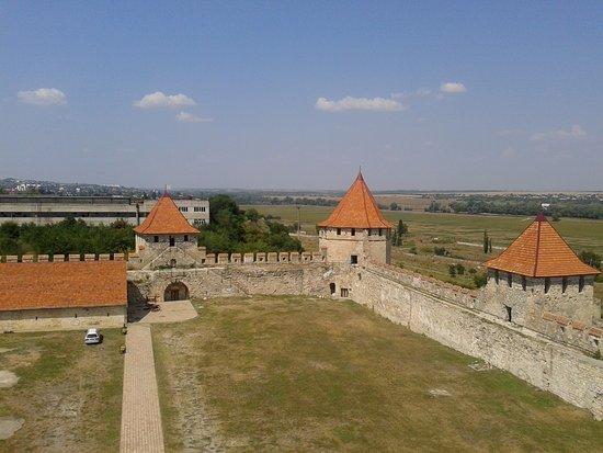 Bender, Moldova: Бендерская крепость. Вид сверху