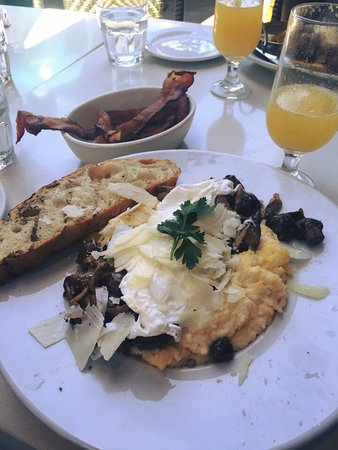 Delicious and interesting brunch!