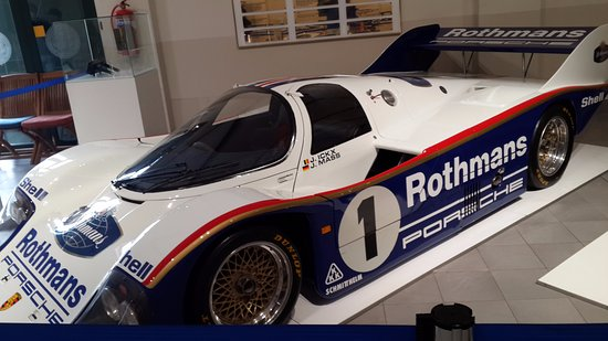 Franschhoek, Zuid-Afrika: Rothmans Porsche 956 as raced at Kyalami