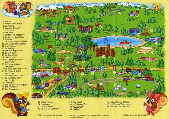 Gisors, Frankrijk: Plan du parc