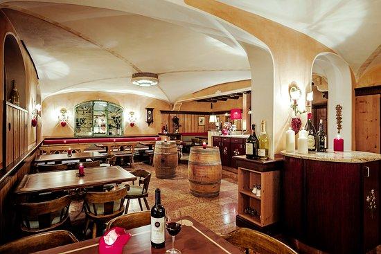 Hotel Schrofenstein: Restaurant