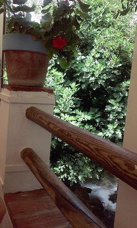 Benamahoma, Spagna: terraza sobre rio majaceite