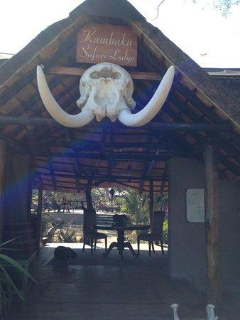 Timbavati Private Nature Reserve, Republika Południowej Afryki: Entrance to the lodge