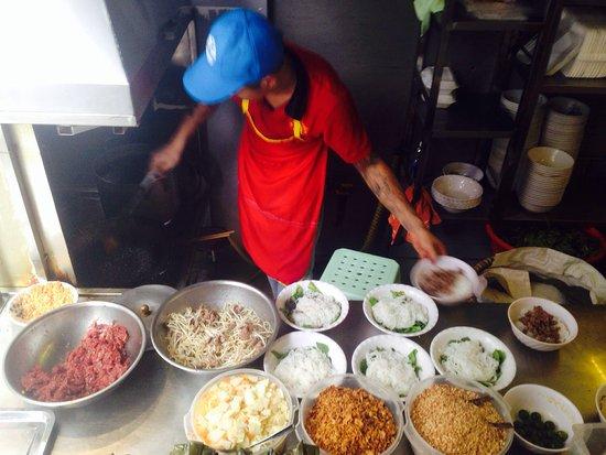 Bun Bo Nam Bo: Fantastic food!