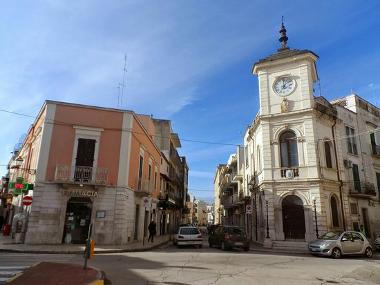 Piazza Porta La Barra di Andria