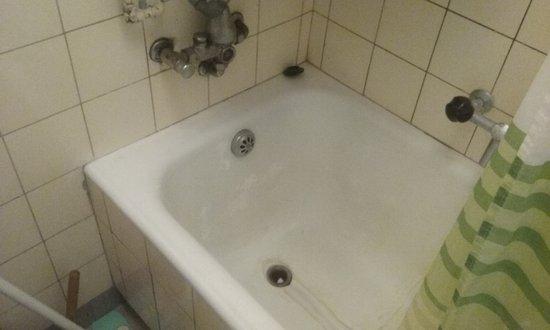 Hotel Villette: Disgusting bathtub