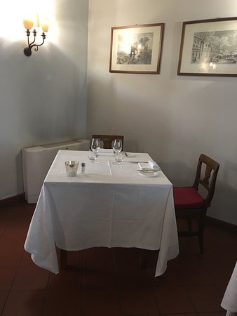 Soragna, İtalya: Al ristorante della locanda ....