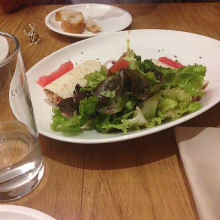 Орсиерес, Швейцария: Ein tolles Dinner