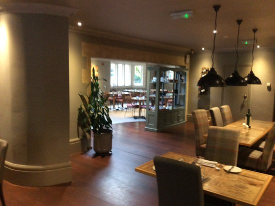 Little Bourton, UK: Dining area