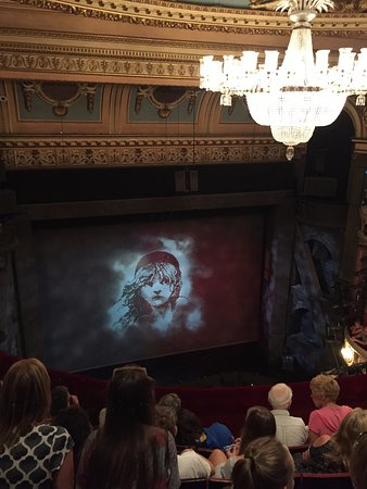 View from row D Upper Circle