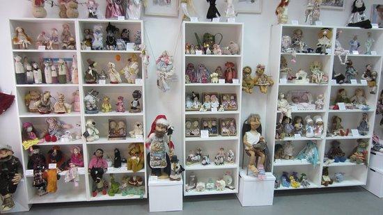 Art Gallery of Designer's Dolls and Teddy Bears Plyushkina Doch