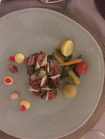 La Sosta Restaurant : Carpacio as a main