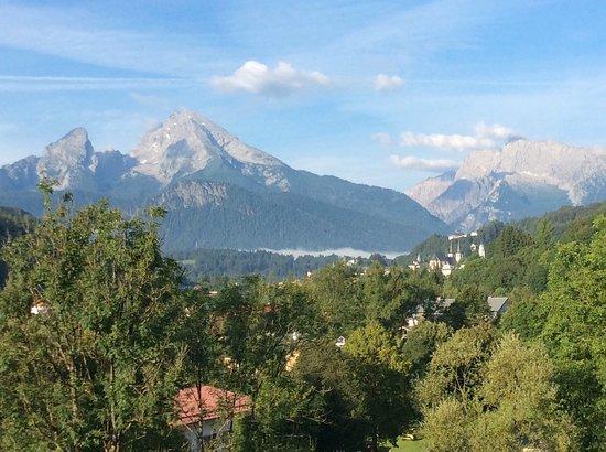 Alpensport-Hotel Seimler : Blick vom Balkon