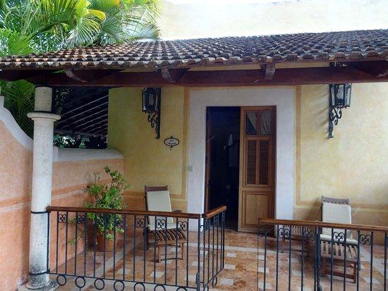 Hacienda Xcanatun: Ma chambre !