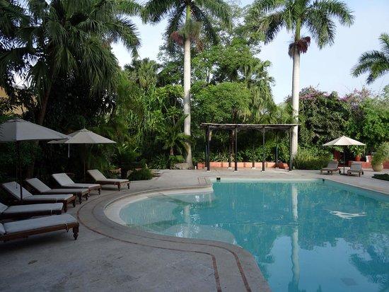 Hacienda Xcanatun: Une des 2 piscines